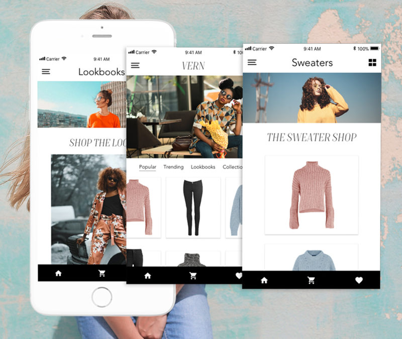 Vern Fashion Fashion E-commerce App